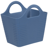 Aegean Rectangle Ribbed Container With Handles