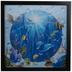 Ocean Dolphins Lenticular Wood Wall Decor