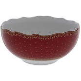 Red Nutcrackers Bowl