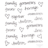 Family Memories Doodle Stickers