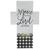 Rejoice Buffalo Check Crosses