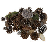 Frosted Pinecones & Pine Filler