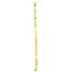Yellow Dyed Agate Round Bead Strand - 6mm