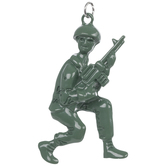 Green Army Soldier Pendant