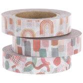 Red, Pink & White Washi Tape