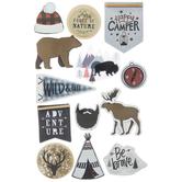 Lumberjack 3D Stickers