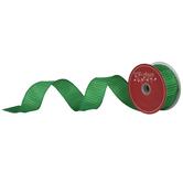 """Green Ridge Wired Edge Ribbon - 1 1/2"""""""