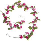 Pink Mini Rose Garland