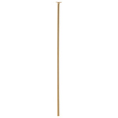 10K Gold Plated Head Pins - 1 1/2""