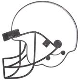 Football Helmet Metal Wall Decor