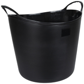 Black Container with Handles - XL