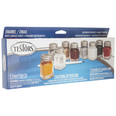 Auto Detail Enamel Paint - 9 Piece Set