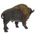 Bison With Plateau Scene