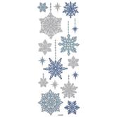 Snowflake Glitter Stickers