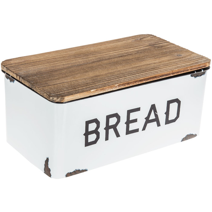 White Enamel Bread Box Hobby Lobby 1636042