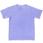Fluorescent Blue Comfort Colors Heavyweight T-Shirt - 2XL