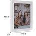 White Lipped Wall Frame - 16