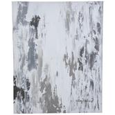 Abstract Rain Canvas Wall Decor