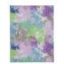 Multi-Color Tie-Dye Felt Sheet