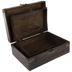 Brown Distressed Wood Box Set