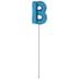 Letter Balloon Garden Pick - B