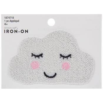 Sleepy Cloud Iron-On Applique
