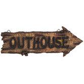 Outhouse Wall Decor
