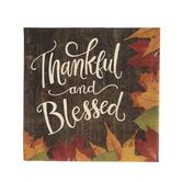 Thankful & Blessed Napkins