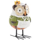 Owl With Pilgrim Dress