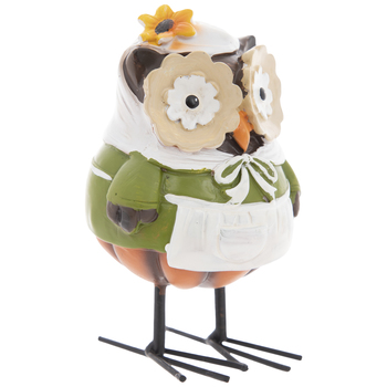 Owl With Pilgrim Dress