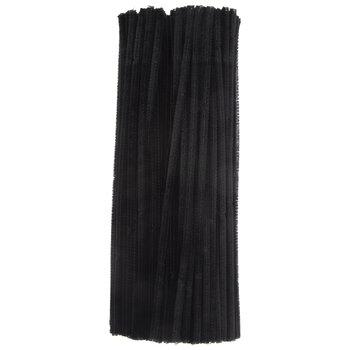 Black Chenille Stems Value Pack