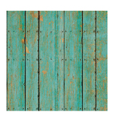 "Turquoise Wood Fence Scrapbook Paper - 12"" x 12"""