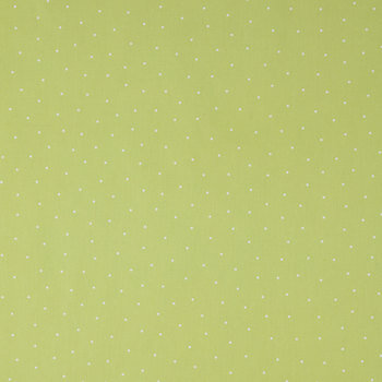 Cactus & Off White Mini Dot Apparel Fabric