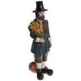 Pilgrim With Wheat