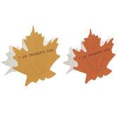 I Am Thankful Leaf Place Cards