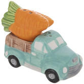 Blue Truck & Carrots Salt & Pepper Shakers