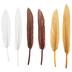 Earth Mix Mini Craft Feathers - 3