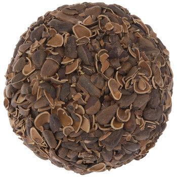 Pine Nut Shells Decorative Sphere