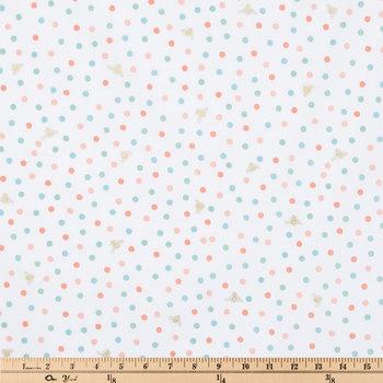 Polka Bee Apparel Fabric