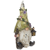 Distressed Gnome With Lantern