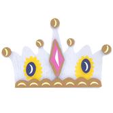 Princess Crown Painted Wood Shape