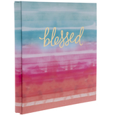 "Blessed Watercolor Post Bound Scrapbook Album - 8 1/2"" x 11"""