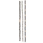 Metallic & Cultured Pearl Bead Strands