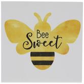 Bee Sweet Wood Decor