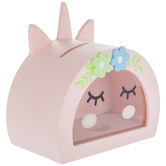 Unicorn Face Coin Bank
