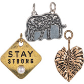 Stay Strong Charms