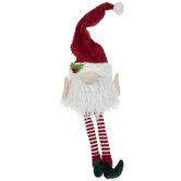 Santa Gnome Tree Topper
