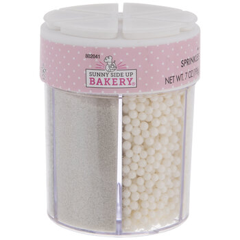 Green /& White 100/'s /& 1000/'s W SILVER PEARLS Edible SPRINKLES Cake Decorate Red
