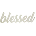 Blessed Wood Cutout