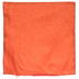 Orange Poly Silk Pillow Cover